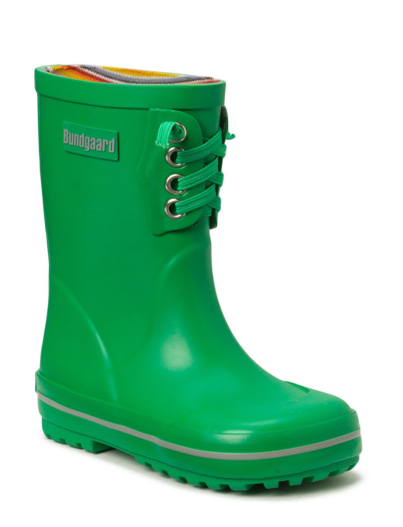 Classic Rubber Boot Bright Green Bundgaard Gummistøvler til Børn i