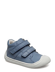 Walk with Velcro - JEANS BLUE/WHITE