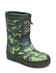 Classic Rubber Boots Warm - CAMO