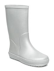 Tween Rubber Boot - SILVER