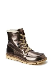 Terry Boot with laces - Bronze