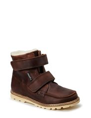 Terry Boot with velcro - Brown