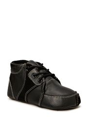 Prewalker Black w/laces - Black