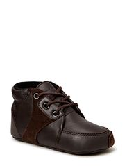 Prewalker Brown w/laces - Brown