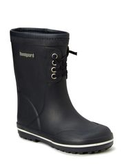 Rubber Boot with warm lining - Navy