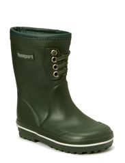 Rubber Boot with warm lining - Green