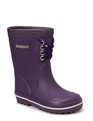 Rubber Boot with warm lining - Purple