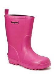 Rubber Boot with neopren - Brt Fuchsia