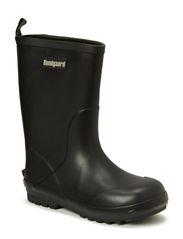 Rubber Boot with neopren - Brt Black