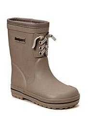 Rubber Boot w/warm Grey - GREY