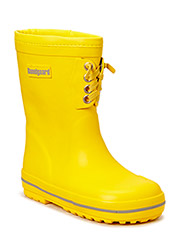 Rubber Boot w/warm Yellow - YELLOW