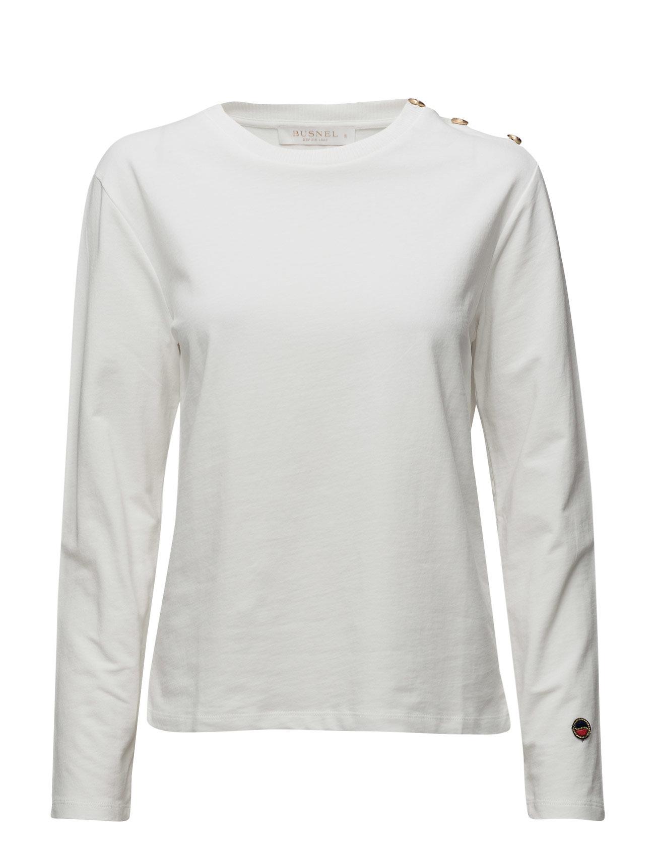 Mira Sweatshirt BUSNEL Langærmede til Damer i Lysegrå