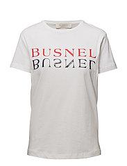 Tours text t-shirt - WHITE