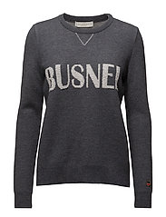 Marignac Sweater - GREY BUSNEL PRINT