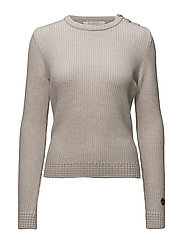 Cherbourg Sweater - Light beige -Offwhite