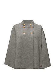 Bécourt Cape - LIGHT GREY