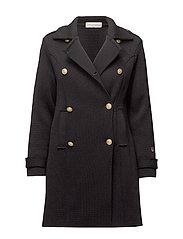 Marina coat - BLACK