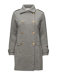 Marina coat - LIGHT GREY