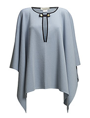 Anna-Eva cape - light blue/ Marin M017