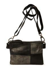 Color block small shoulderbag - Blacks