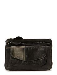Color block small purse - Blacks