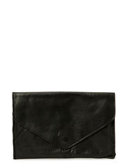 Sharp metallic purse - Black