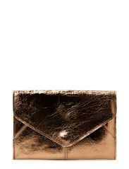 Sharp metallic purse - Bronze crackle