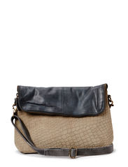 Elegant Embossment - Clutch - Brown