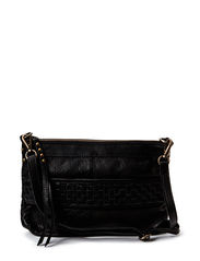 Braided Delux - Large clutch - Black