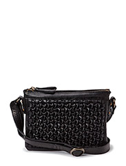 Petite Knots cross over bag - Black
