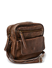 Clean cut cross over bag - Mud
