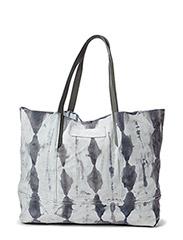 Dip dye suede big bag - Light Grey