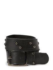 Modern straps belt - Blacks