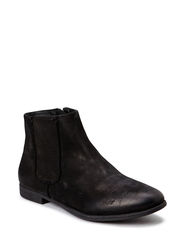 Emely flat boot with cut outs - Black