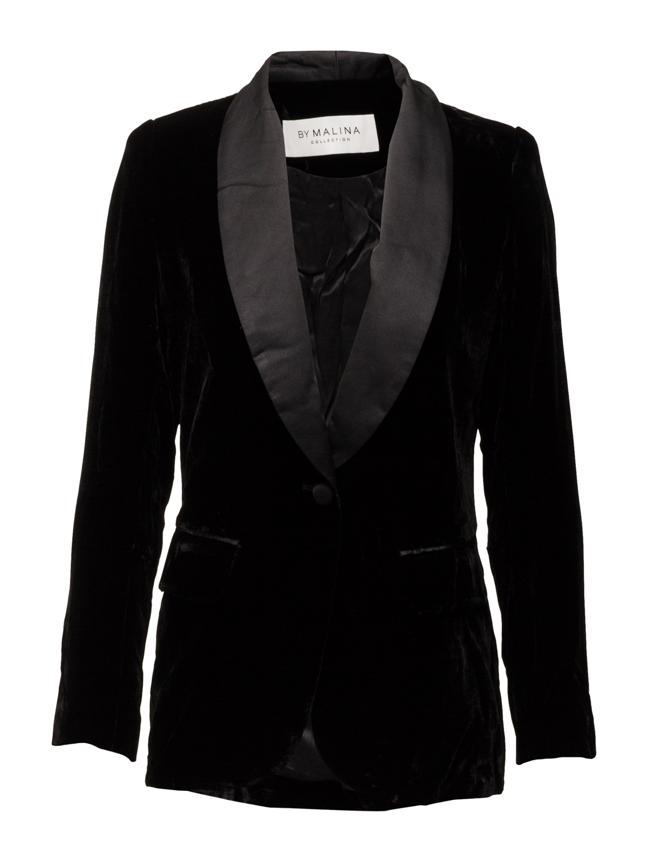 Alma Tuxedo Jacket By Malina Blazere til Kvinder i Sort