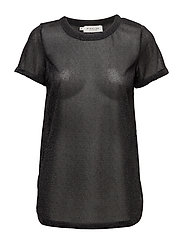 Plum tee - METALLIC BLACK