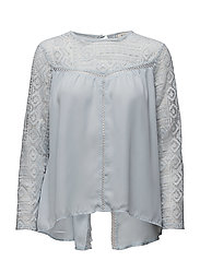 Amira blouse - AIR BLUE