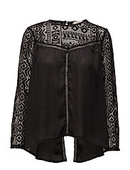 Amira blouse - BLACK
