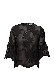 Hiba blouse - BLACK