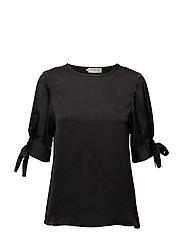 River blouse - BLACK
