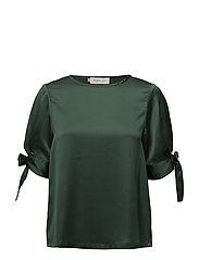 River blouse - HUNTER GREEN