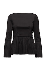 Blossom blouse - BLACK