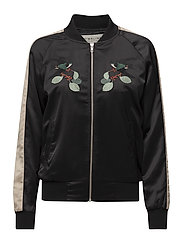 Luna bomber jacket - BLACK