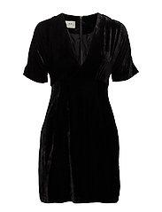 Hedda mini dress - BLACK