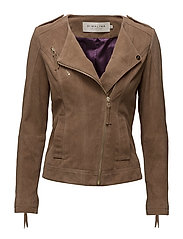 Chica suede jacket - CAMEL