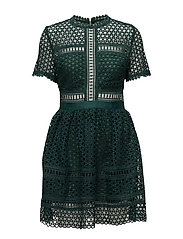 Emily dress - HUNTER GREEN