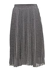 Pearl skirt - METALLIC SILVER