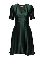 Willow dress - HUNTER GREEN