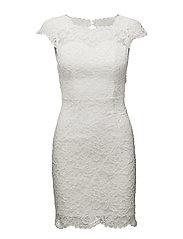 Leoni dress - WHITE