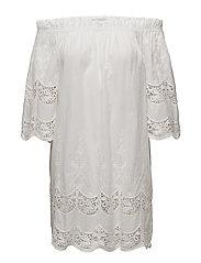 Bella dress - CLOUDY WHITE